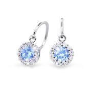 Náušničky pro miminko Cutie Jewellery C2745B-Arctic Blue