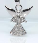 Přívěšek stříbrný anděl 308389