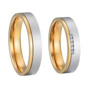 Ocelové snubní prsteny SPPL004