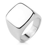 Pečetní prsten pro muže z chirurgické oceli 6576ST