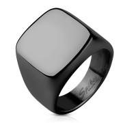Pečetní prsten pro muže z chirurgické oceli 6576K