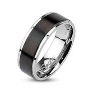 Ocelový prsten Spikes 003M