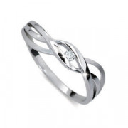 Prsten se zirkonem stříbro 1843