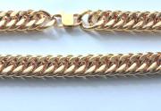 Zlatý pánský ocelový řetěz WJHN08-GD