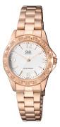 Elegantní dámské hodinky na ruku Q+Q Q981J014Y