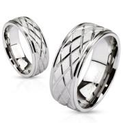 Ocelový prsten Spikes 2621