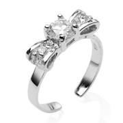 Stříbrný prsten 024