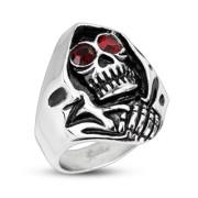 Pánský prsten Spikes 2178 - Smrtka