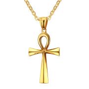 Náhrdelník nilský kříž zlatý JCFPN645G