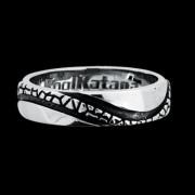 Ocelový prsten KoolKatana 055