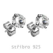 Náušnice SEESRDC-Stříbro 925/000