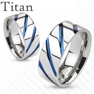 Titanový prsten Spikes 4381
