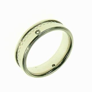 Ocelový prsten SELJR213