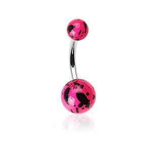Piercing pupíku 012-ROSE