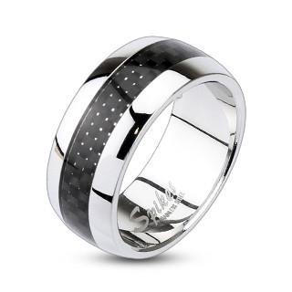 Ocelový prsten Spikes 0004