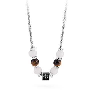 Ocelový náhrdelník pro muže Brosway BTJNS16