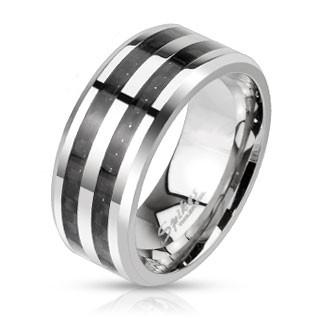 Ocelový prsten Spikes 2686K