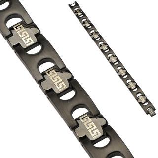 Ocelový náramek Spikes 0101