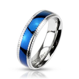 Ocelový prsten Spikes 942