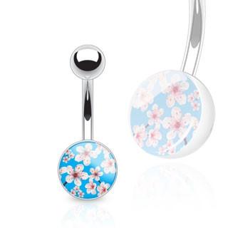 Ocelový piercing 12925