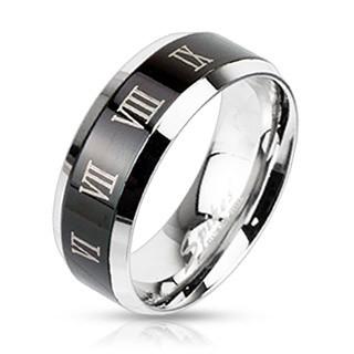 Ocelový prsten Spikes 2312