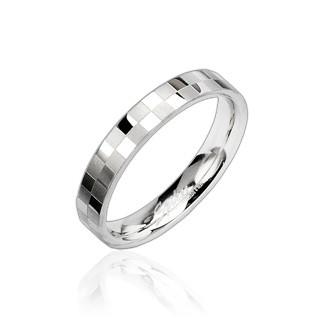 Ocelový prsten Spikes 8002