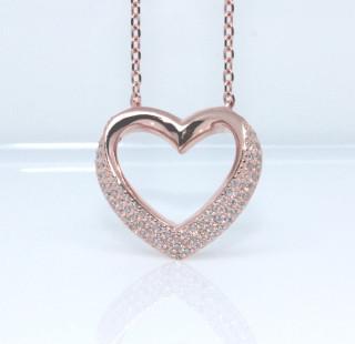 Náhrdelník srdce 306986