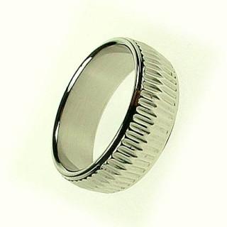Ocelový prsten 922