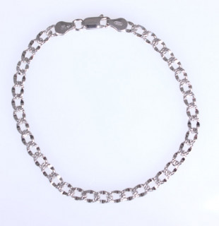 Náramek na paži stříbro 301671