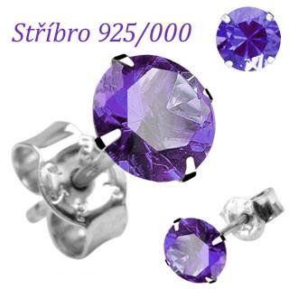 Náušnice SEESRD4TZ-Stříbro 925/000