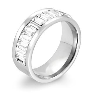 Ocelový prsten MCRSS013