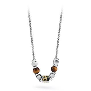 Pánský náhrdelník z chirurgická ocel Brosway Tres Jolie BTJNS12
