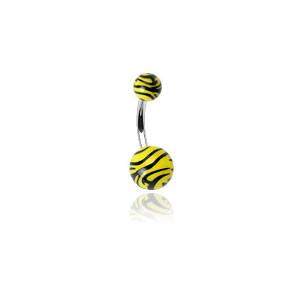 Piercing pupíku 0204-Yellow