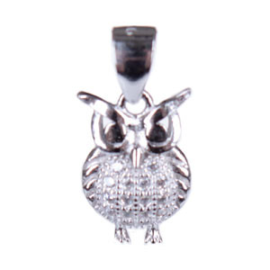 Stříbrný přívěsek sova 30307600001