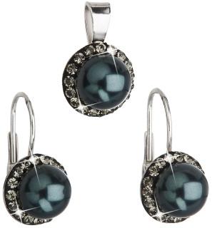 Sada stříbrných šperků Swarovski elements 39091.3 Tahiti