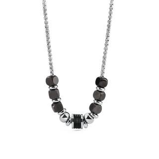 Oceľový náhrdelnik Brosway Tres Jolie pro muže BTJNS15