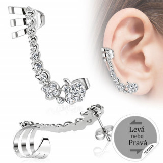 Velký piercing do ucha 13289