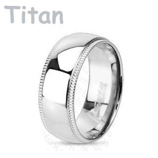 Titanový prsten Spikes 3638