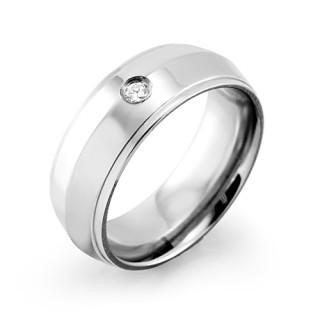 Ocelový prsten MCRSS011