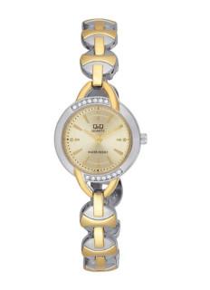 Dámské kovové hodinky Q+Q F337J400Y