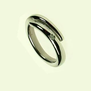 Ocelový prsten SELJR715