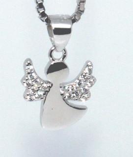 Stříbrný anděl přívěsek 307053