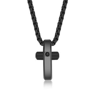 Ocelový náhrdelník Brosway Crux BRX13