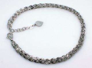 Stříbrný náramek dámský 304659