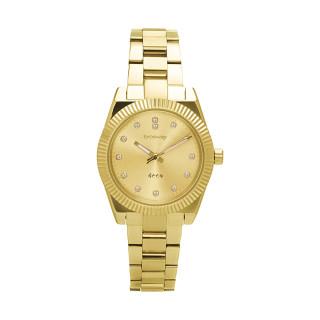 Dámské zlaté hodinky na ruku Brosway Déco WDC07