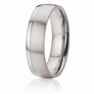 Ocelový prstýnek SPPL027