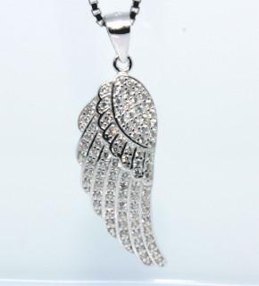 Stříbrný přívěsek andělské křídlo 305034