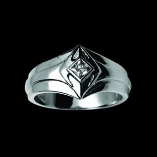 Ocelový prsten 091-cr