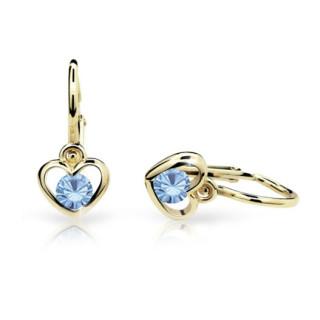 Dětské náušnice Cutie Jewellery C1943Z Artctic Blue