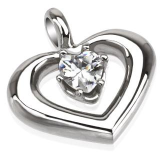 Přívěšek srdce 5795